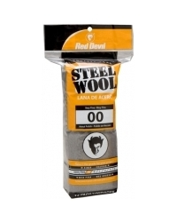 00 Grade Steel Wool - 16 Pack