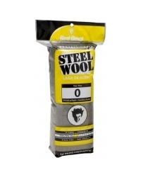 0 Grade Steel Wool - 16 Pack