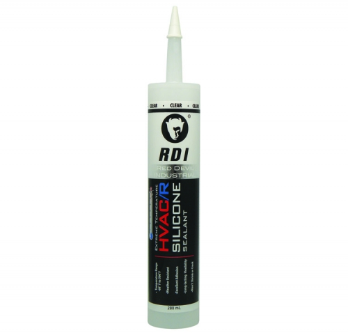 Extreme Temperature Hvac R Silicone Sealant Clear