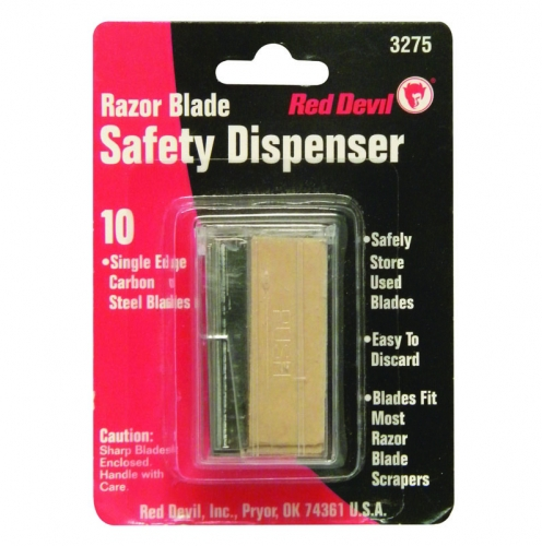Single Edge Razor Blades Safety Dispenser Of 10