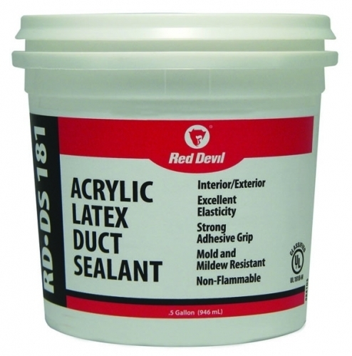 Rd Ds 181 Acrylic Duct Sealant Tub