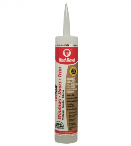 Beautiful LIFETIME Advanced Acrylic Sealant Plus Silicone Clear Model - Unique siliconized acrylic caulk Ideas