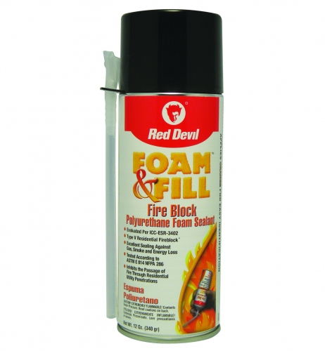 Foam Amp Fill 174 Fire Block Foam Sealant