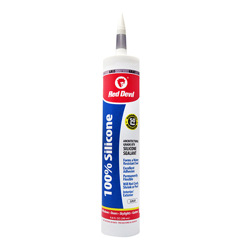 100 Silicone Sealant Gray