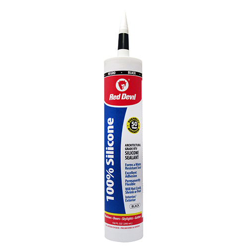 100 Silicone Sealant Black