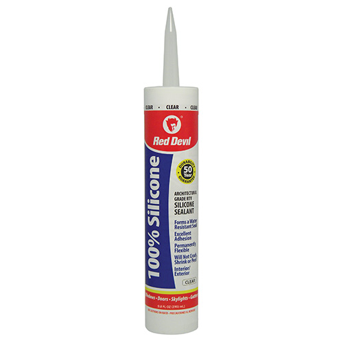 100 Silicone Sealant Clear