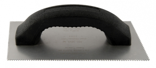 A2 Trowel Notch : Multi purpose spreader dual notched angled blade a