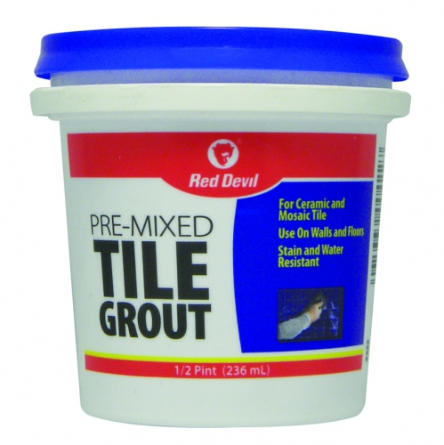 Pre Mixed Tile Grout 1 2 Pint