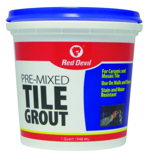 Pre Mixed Tile Grout 1 Quart