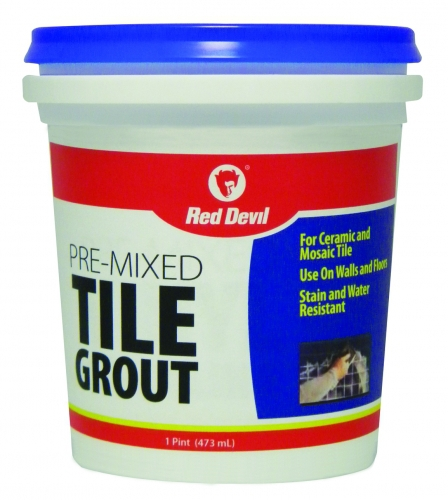 Pre Mixed Tile Grout 1 Pint