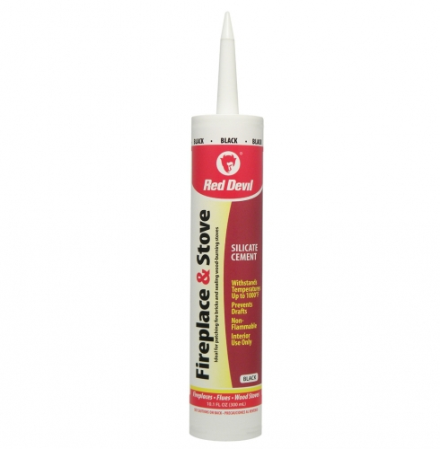 Fireplace and Stove Silicate Sealant is non-flammable