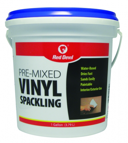 Pre Mixed Vinyl Spackling Compound 1 Gallon Tub