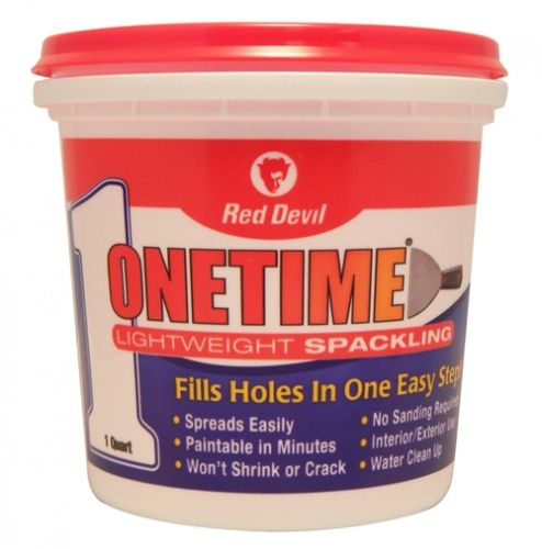 Onetime 174 Lightweight Spackling 1 Quart