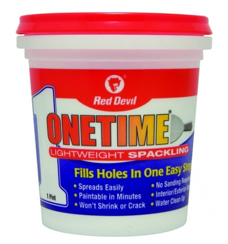 Onetime 174 Lightweight Spackling 1 Pint
