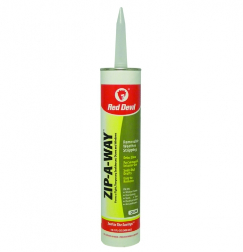Zip A Way Removable Sealant