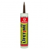 LIFETIME® Siliconized Acrylic Adhesive Sealant (Dark Brown)