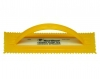"General Purpose Adhesive Spreader, Plastic - 1/4"" V-Notch"