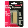 Single Edge Razor Blades - Safety Dispenser of 10