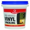 Pre-Mixed Vinyl Spackling Compound Case Pack (1/2 Pint Tub)