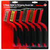 6 Piece Detail & Stripping Brush Set
