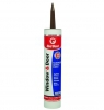 Window & Door Siliconized Acrylic Caulk (Dark Brown)